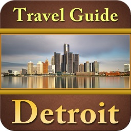 Detroit Offline Map Travel Guide