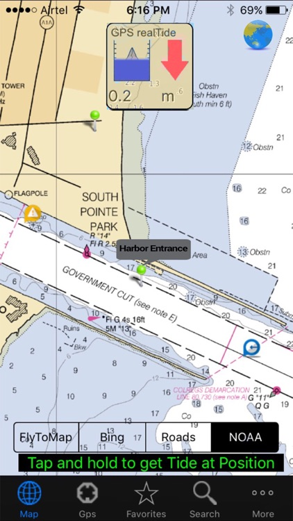 Real Tides and Current HD nautical charts forecast screenshot-3