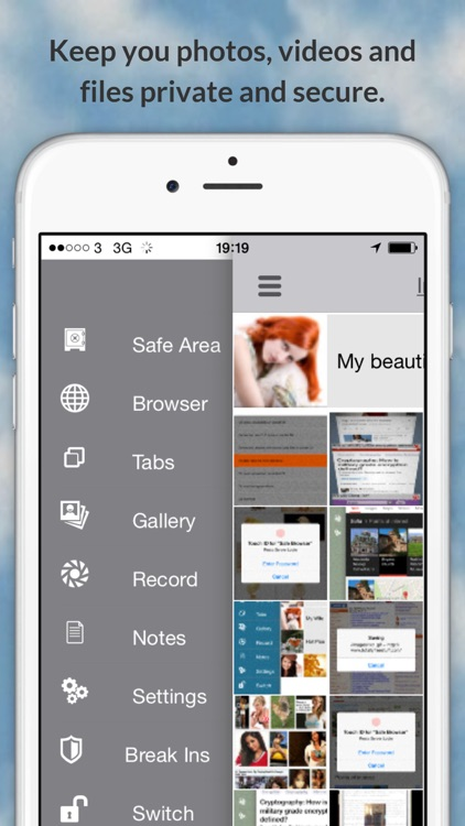Safe Browser Secure : Photo Video Vault, Anonymous