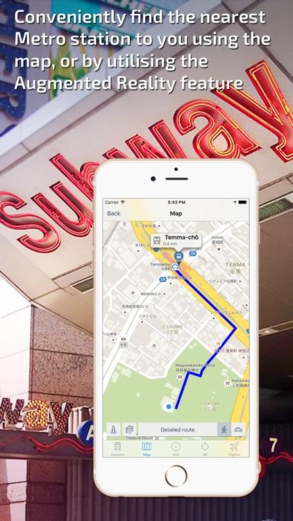Nagoya Metro Guide and Route Planner screenshot-3
