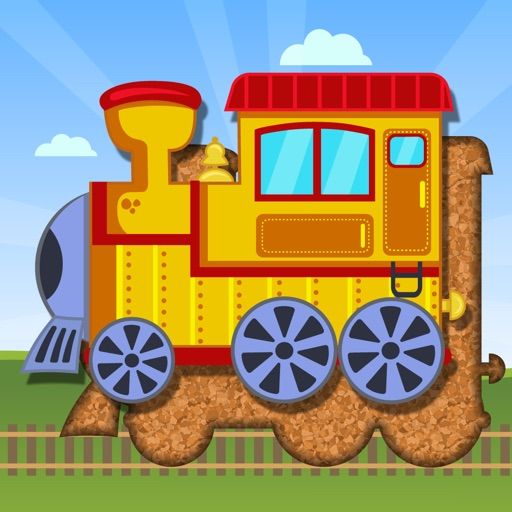Kids Train Transportation Puzzle Games for Toddler iOS App