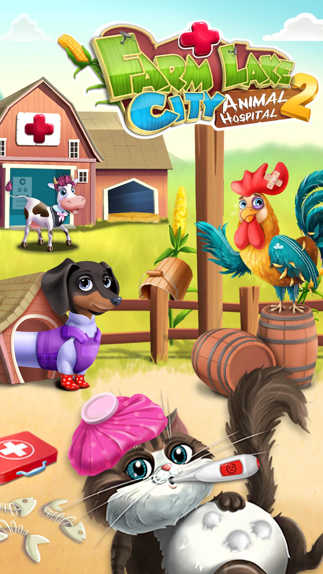 Farm Lake City Hospital 2 Animal Doctor & Pet Vet Screenshot