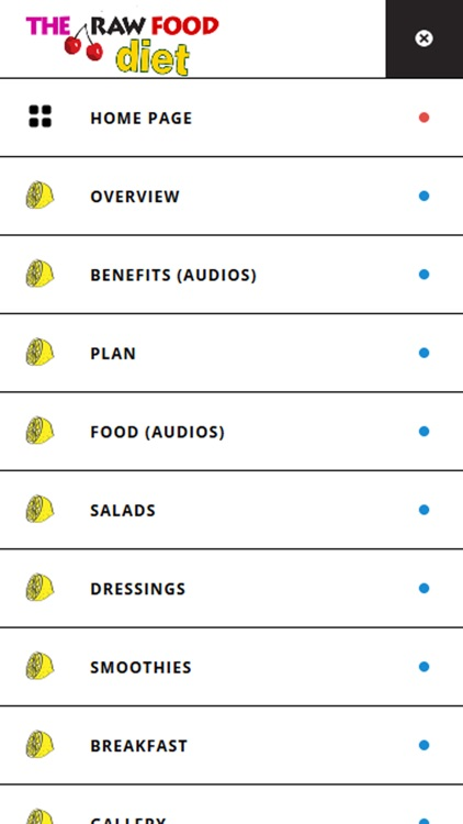 Raw Food Diet Plan for weight loss fast screenshot-3