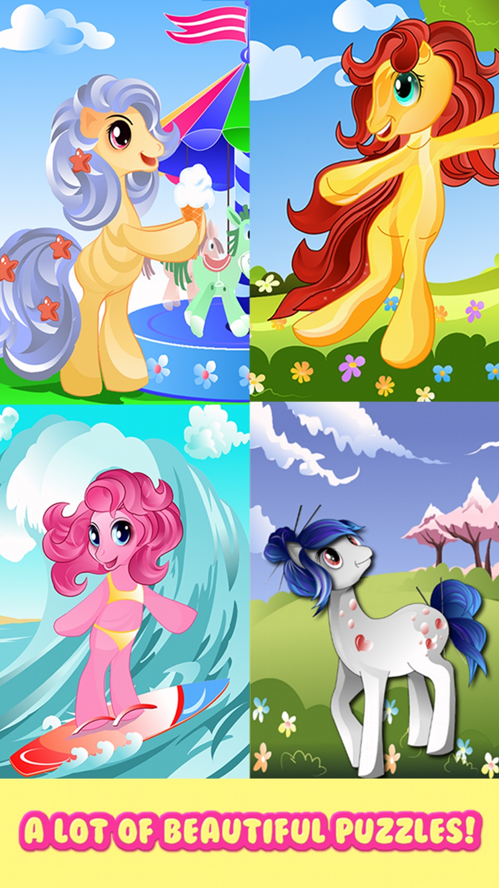 Pony Games for Girls My little Jigsaw Pony Puzzles hack tool
