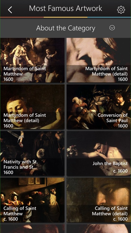 Caravaggio Art Gallery & Virtual Museum