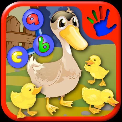Дошкольного возраста животных фермы ABC