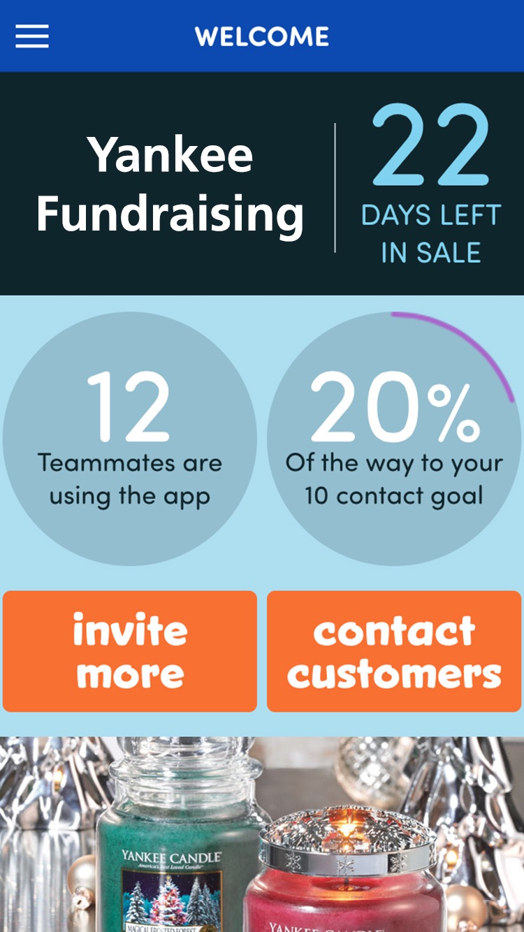 Yankee Fundraising Screenshot
