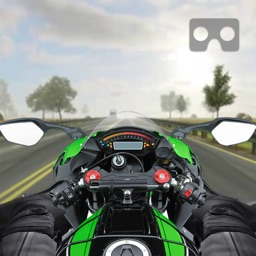 VR Traffic Bike Racer - Bike Racing Game pro