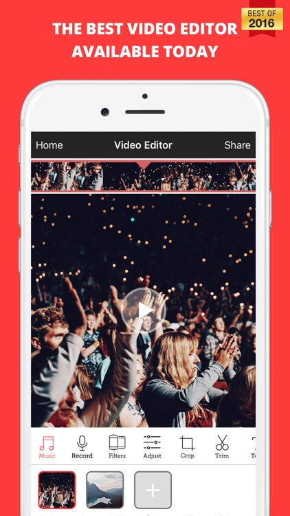 Video Editor- Music Video, Movie Maker for free screenshot-0