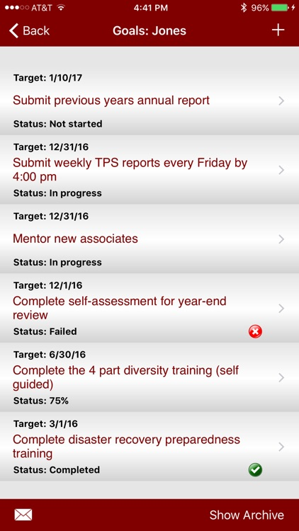 Employee Manager: Goal and Incident Tracking screenshot-4