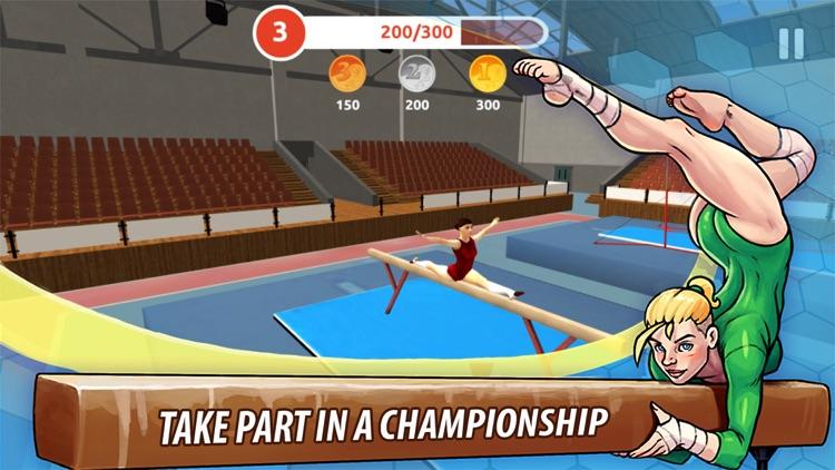 Champion Gymnast Balance 3D: Olympic Champions