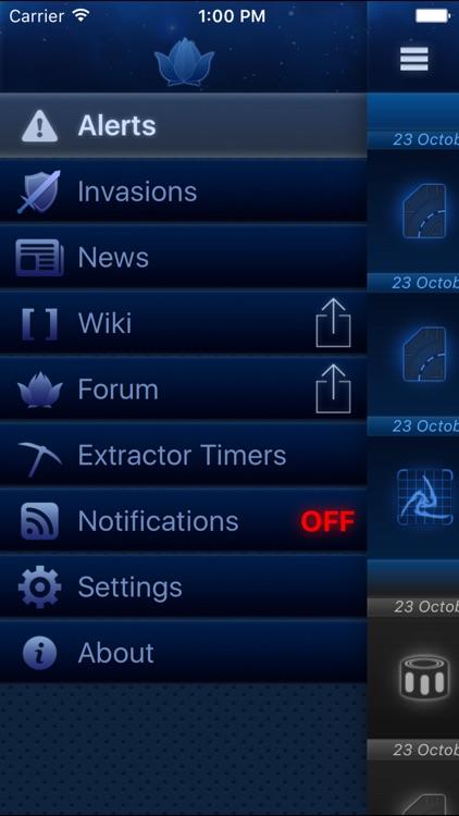 Alerts for Warframe screenshot-4