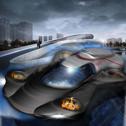 Air Car Chase Dangerous - A Hypnotic Game Of Speed