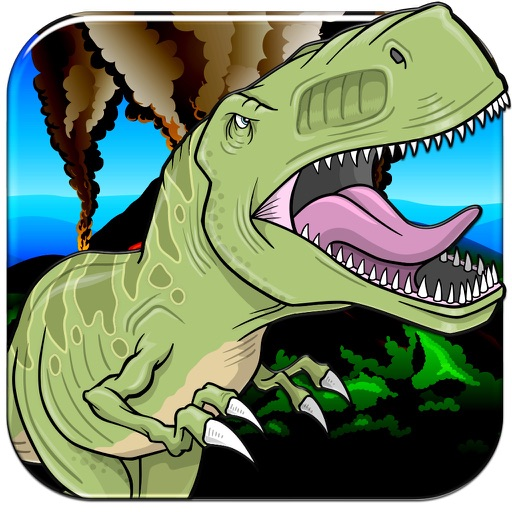 A Dinosaur Lava Jump - Cute Hoppy Monster Madness FREE iOS App