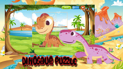 Easy Dinosaur Jigsaw Puzzles For Kids and Adults screenshot three