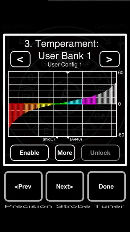 Precision Strobe Tuner Lite screenshot-3