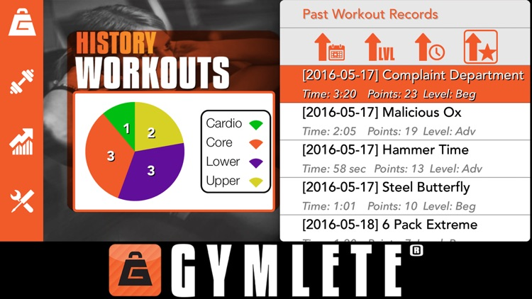 Gymlete screenshot-4