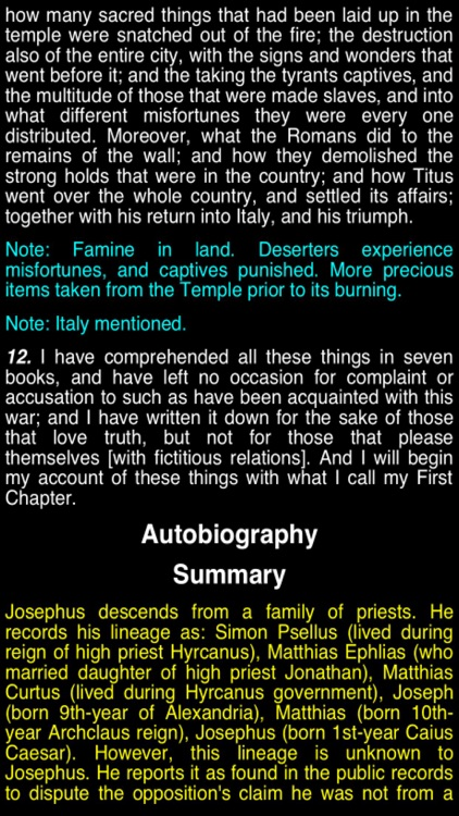 Summary Flavius Josephus (part 6)