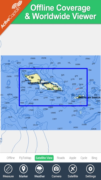 Samoa - GPS Map Navigator screenshot-4