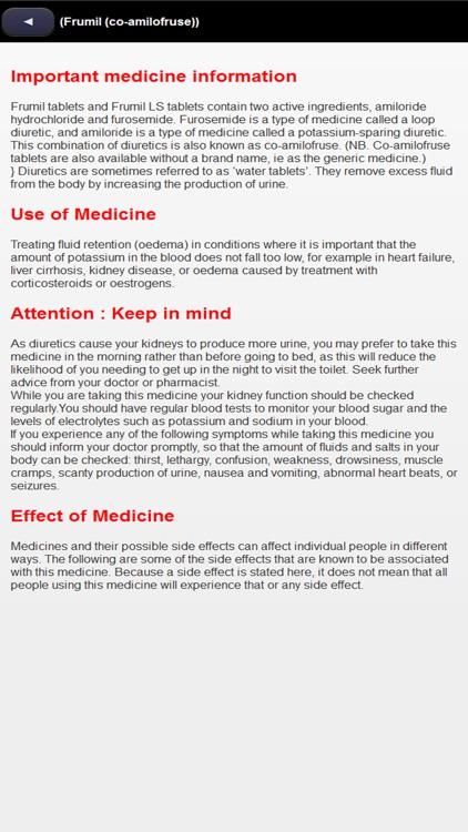 Medicine pocketbook