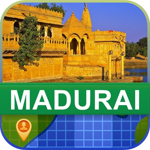Offline Madurai, India Map - World Offline Maps icon