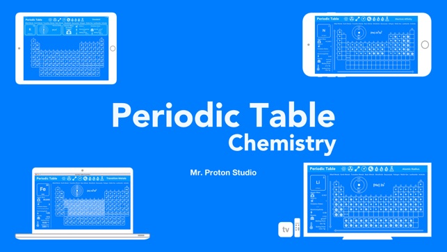 Periodic table chemistry on the app store iphone ipad imessage apple watch urtaz Images
