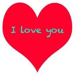 Loving Heart Stickers