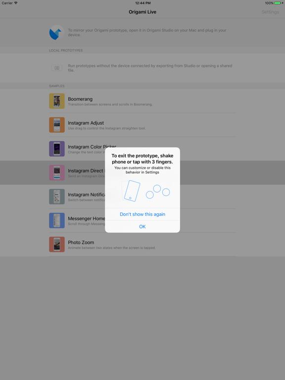 Screenshot #4 pour Origami Live