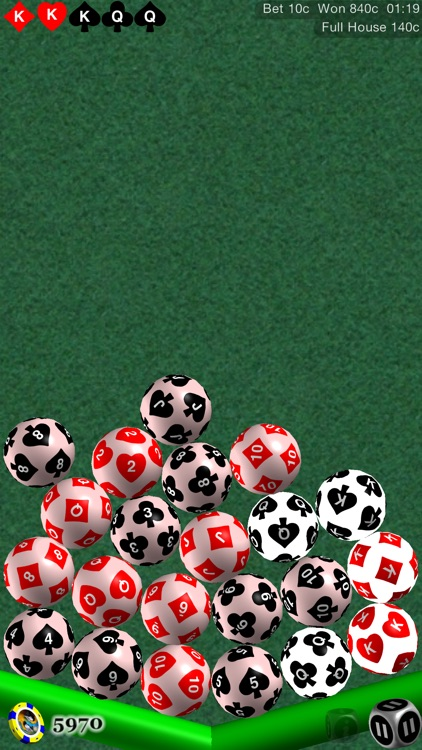 52 Cards Poker Solitaire, w / Shootouts screenshot-3