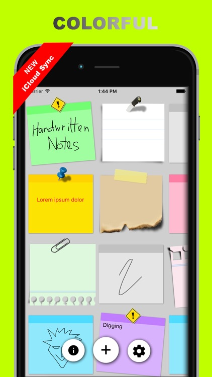 Sticky Notes + Widget