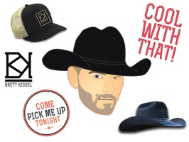Brett Kissel Sticker Pack