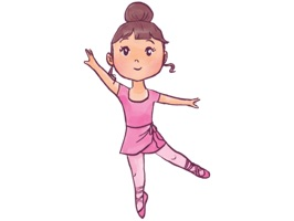 Cute Ballerina Stickers for iMessage contains lots of beautiful ballerina stickers which you can place to your messages to make them totally fun and adorable