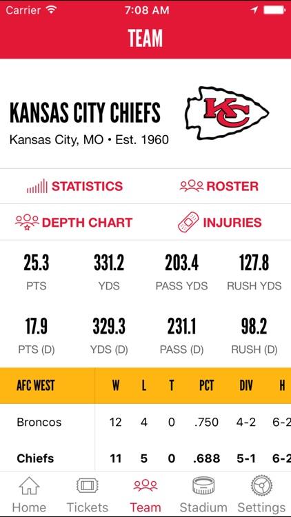 Kansas City Chiefs screenshot-3