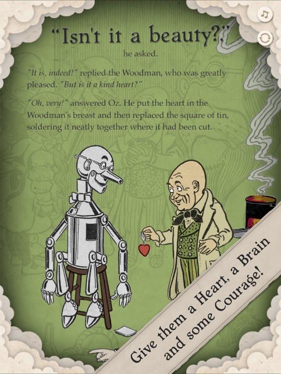 The Wizard of Oz Interactive Children's Book screenshot-3