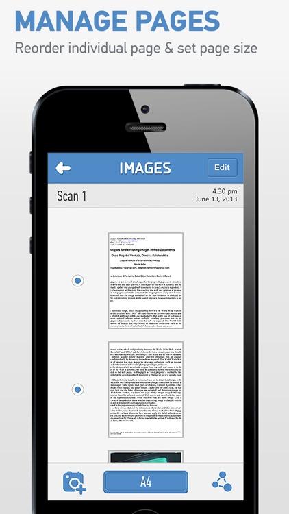 HandyScan Lite: Easy PDF Scanner screenshot-3