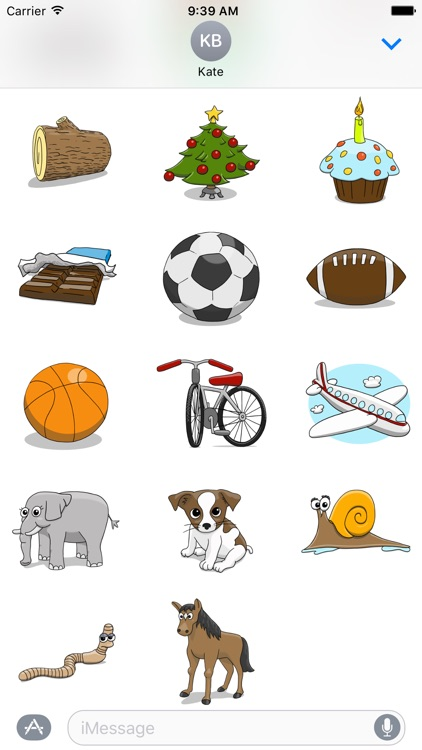 Stickertoons – Colorful stickers for iMessage screenshot-3