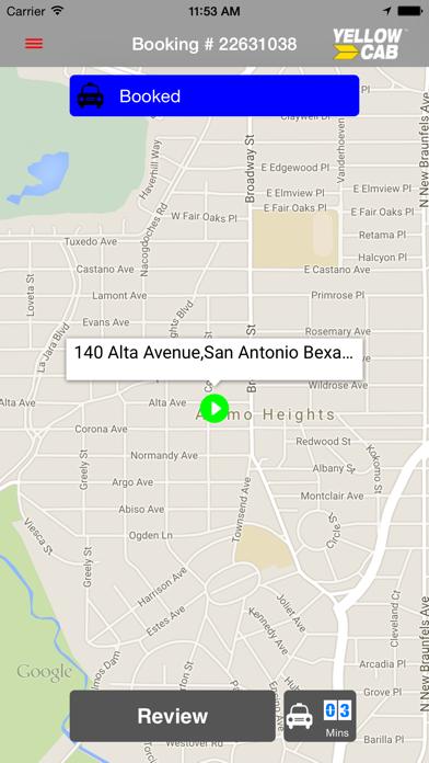 Hailacab San Antonio screenshot three