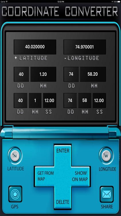 Latitude and Longitude screenshot-3
