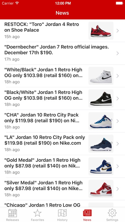 J23 - Jordan Release Dates and History screenshot-3