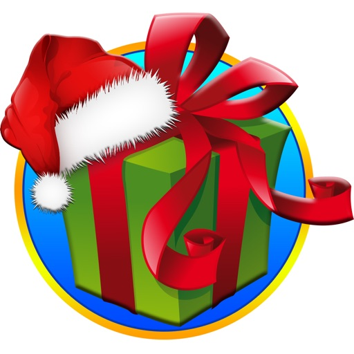 Christmas Gift List - Santa's Bag for Merry Christ