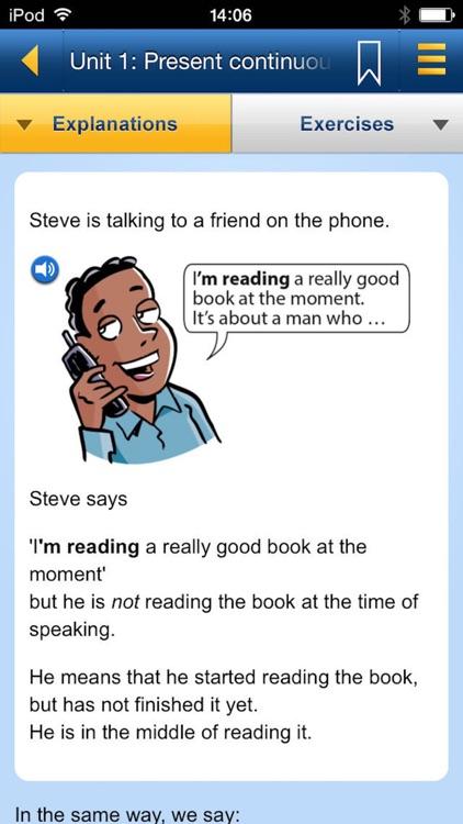 English Grammar in Use: Sample screenshot-3