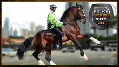 Mounted Horse Police Officer Chase & Arrest Criminals-4