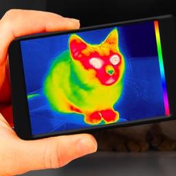 Vision Pro - Live Camera: Thermal Prank