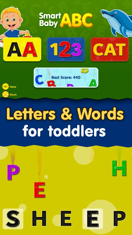 Smart Baby ABC Games: Toddler Kids Learning Apps screenshot-0