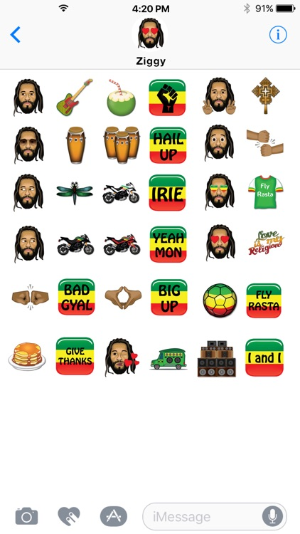 Ziggy Marley by Emoji Fame screenshot-2