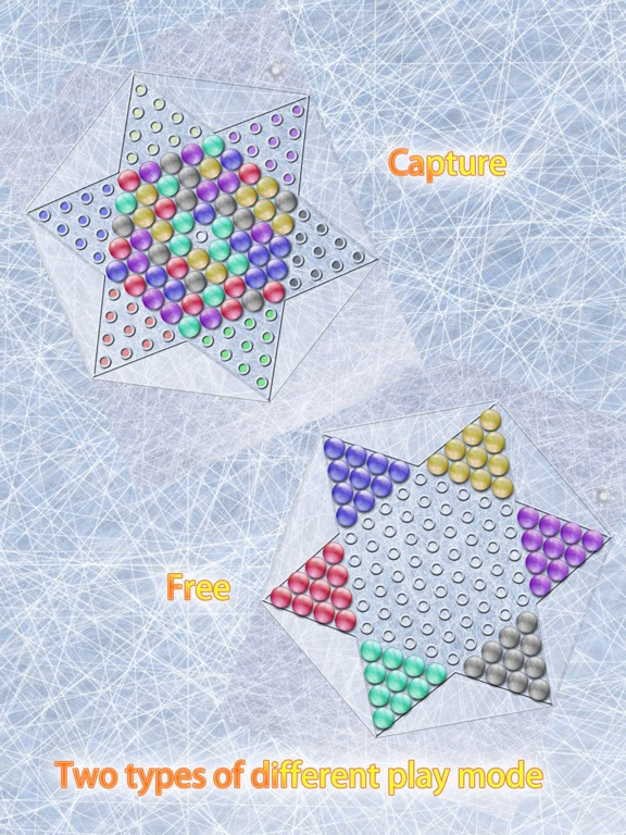 Screenshot #4 pour Realistic Chinese Checkers