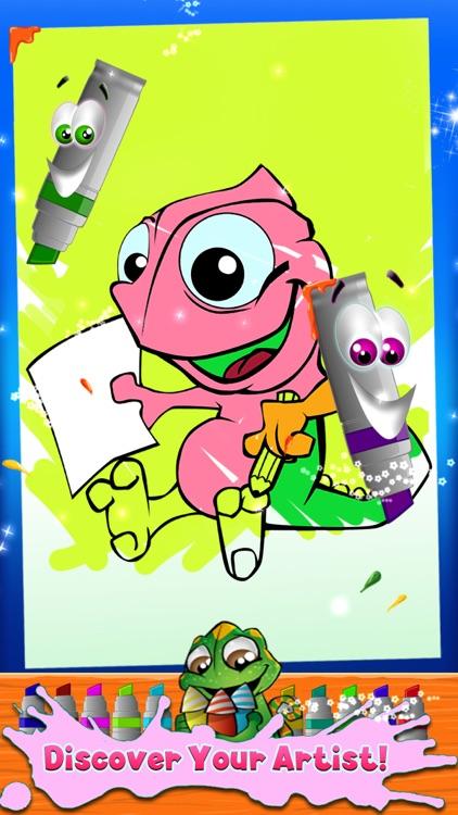 Kids Coloring Book - draw, color & paint studio screenshot-3