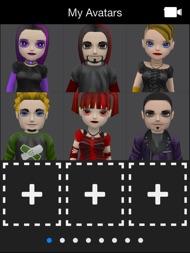 My Talking Goth ipad images