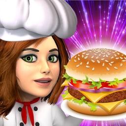Burger Dash - Top Free Burger Cooking Diner Games