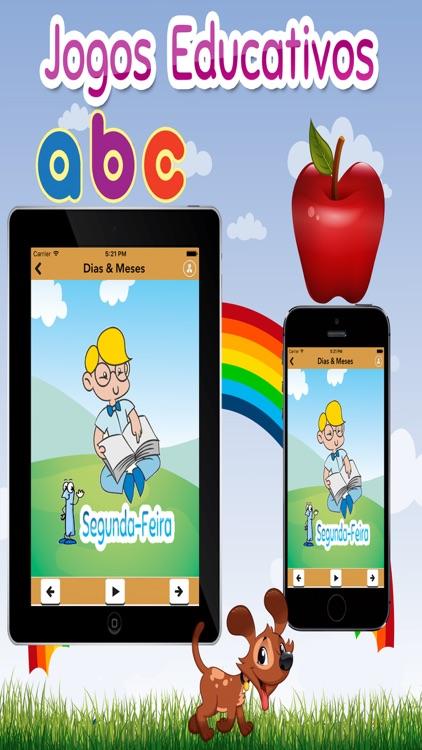 Crianças jogo de aprendizagem (Português) screenshot-3